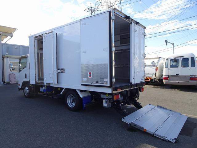 いすゞ エルフ 冷凍車 2t 低温 加温装置付 パワーゲート
