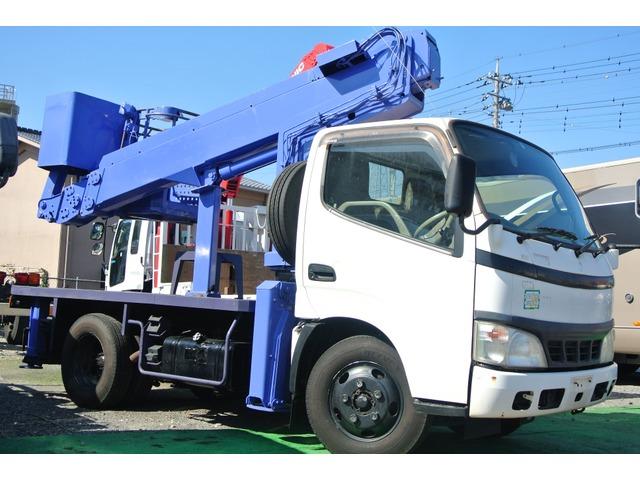 日野 デュトロ 高所作業車 タダノAT-100・高所作業車・10m