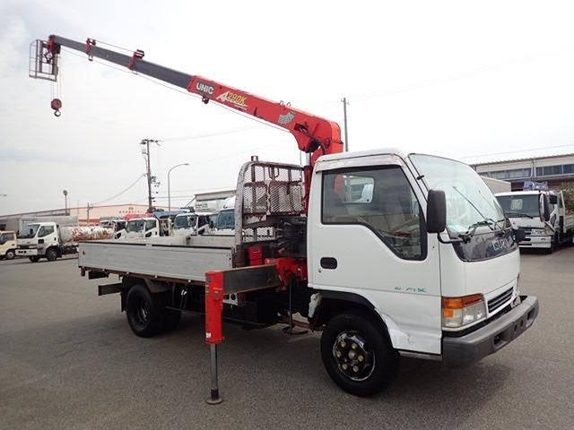 いすゞ エルフ クレーン H10 3.5t 4段ラジコン L362
