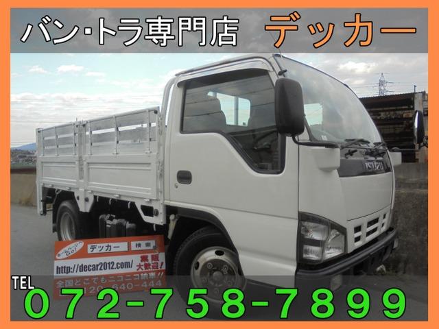 いすゞ エルフ 4.8 フラットロー ディーゼル 3トン2段4枚アオリ荷寸307-161