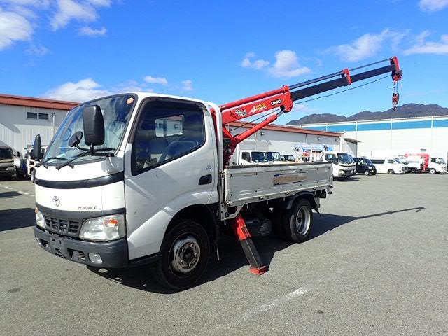 トヨタ ダイナ クレーン H18 10尺 簡易3段 2.95t