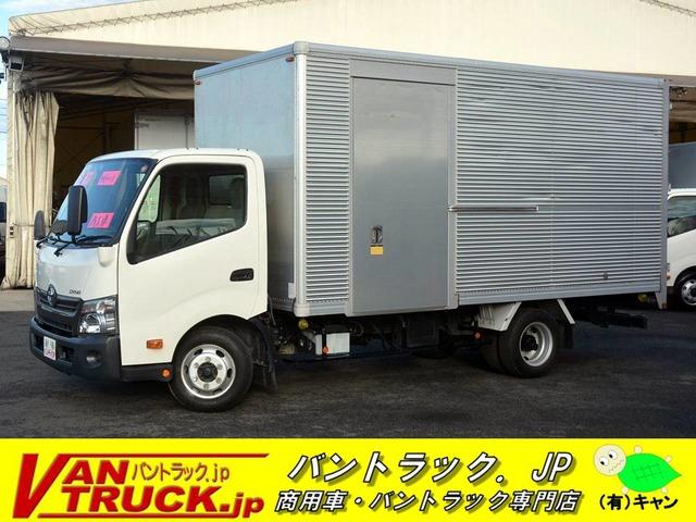 トヨタ ダイナ 4.0 ワイド ロング フルジャストロー ディーゼルターボ アルミバン 3t積 サイドドア