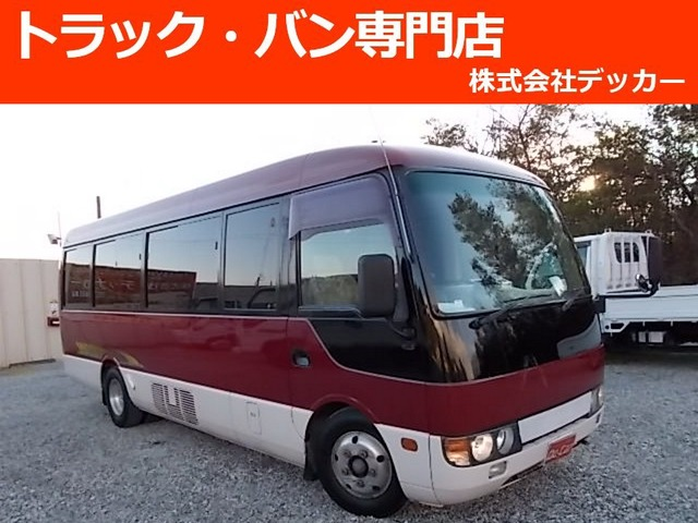 三菱ふそう ローザ カスタム マイクロバス29名乗オートマ 自動扉