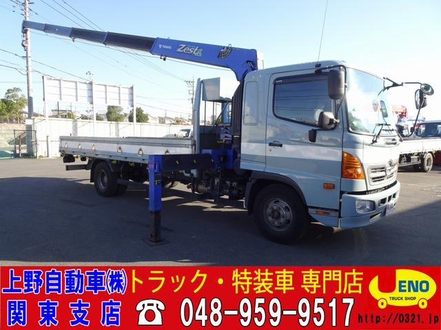 日野 レンジャー  5段クレーン ZE365HR 2.2t積