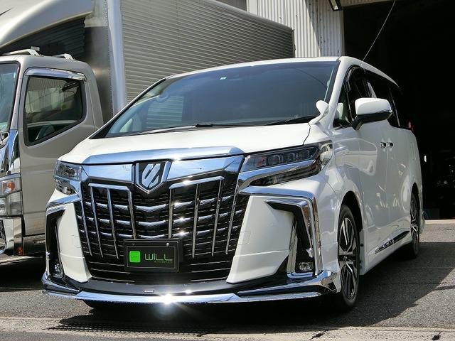 トヨタ アルファード 2.5 S Cパッケージ ツインムーンルーフ モデリスタエアロ