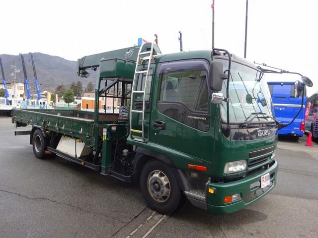 いすゞ フォワード クレーン 4段 タダノ  ベッド付 1.95t積み