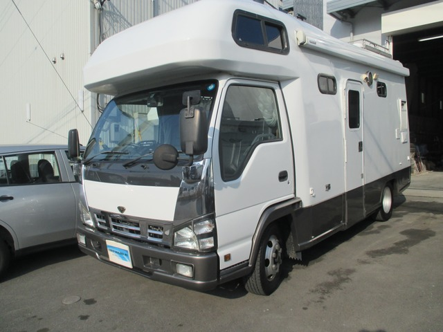 いすゞ エルフ  希少YMS レックストランスター 4WD