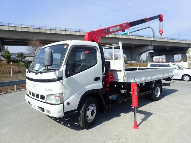 日野 デュトロ クレーン H18 3段ラジコン 超ロング 3.4t