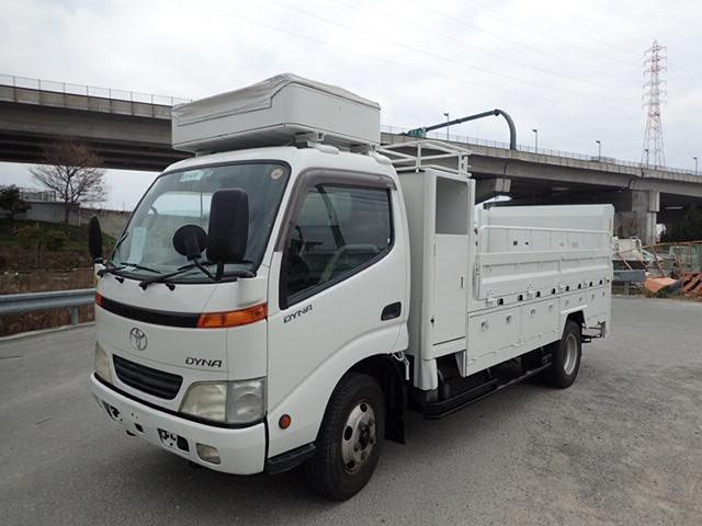トヨタ ダイナ 5.3 高床 ディーゼル H13 2.35t 平 設備車 PG付