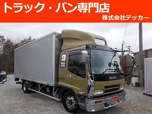 いすゞ フォワード アルミバン 3tワイドPG荷寸622-219-215