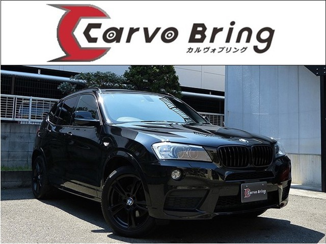 BMW X3 xドライブ20d ブルーパフォーマンス Mスポーツパッケージ ディーゼルターボ 4WD 純正ナビ地デジSBカメ OP19AW