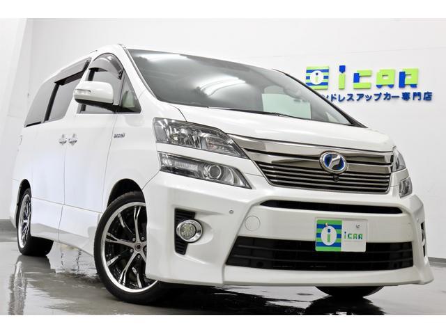 トヨタ ヴェルファイアハイブリッド 2.4 ZR Gエディション 4WD
