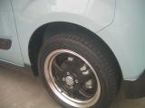 ホイール+タイヤは別売レイズ 鍛造ホイールです。