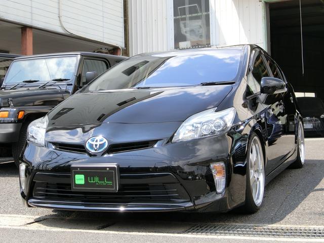 トヨタ プリウス 1.8 S TEIN車高調!グノーシス19インチ!