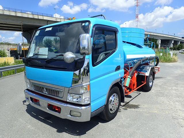 三菱ふそう キャンター バキュームカー H15 3.7t 東急 走行少 糞尿車