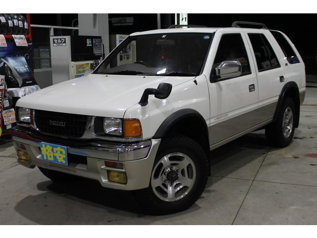 いすゞ ミューウィザード 3.1 タイプX ディーゼル 4WD 低走行 パートタイム4WD
