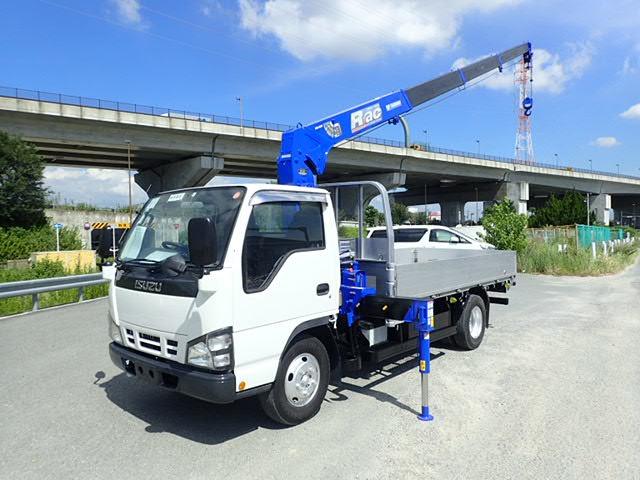 いすゞ エルフ クレーン H18 2t 4段ラジコン 予備検付