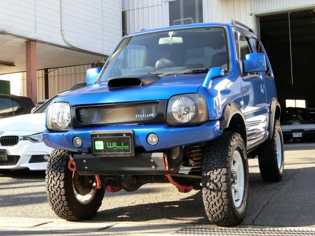 マツダ AZ-オフロード XC 4WD 4WD リフトアップ 社外ナビ ETC