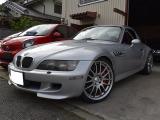 Z3 Mロードスター 3.2 黒赤コンビシート車高調ブレンボキャリパー