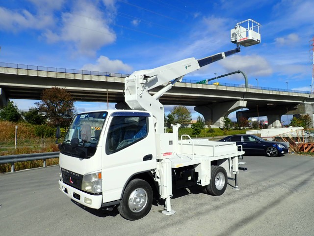 三菱ふそう キャンター 高所作業車 H15 AT121TG 12M タダノ