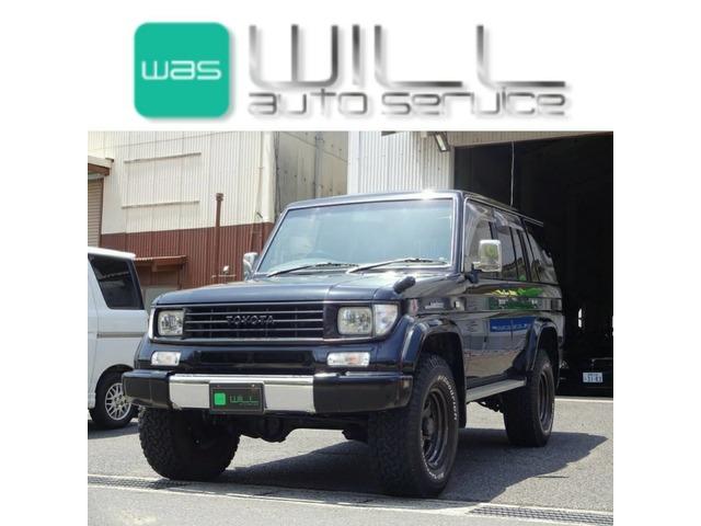 トヨタ ランドクルーザープラド 3.0 SXワイド ディーゼル 4WD サンルーフ 2インチUP マッドタイヤ