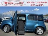 日産 キューブ 1.5 15X Vセレクション アンシャンテ 助手席スライドアップシート