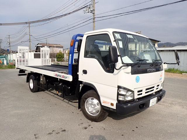 いすゞ エルフ 積載車 H19 3.45t 積車 ラジコン 検付