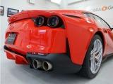 4本出しのマフラーはフェラーリV12サウンドを存分に楽しむ事が出来ます。
