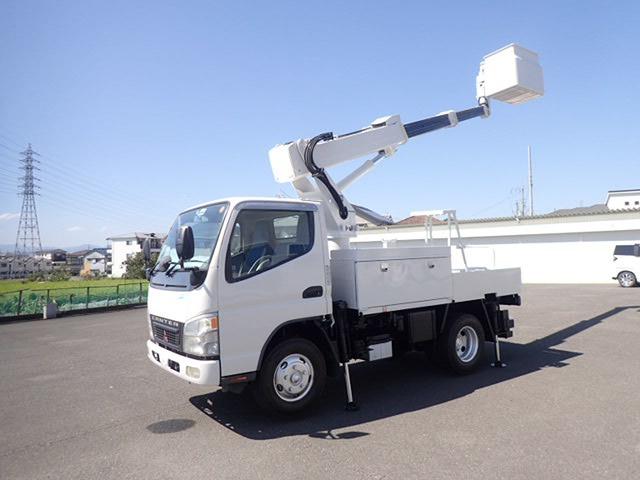 三菱ふそう キャンター 高所作業車 H18 アイチSS10A 9.7m 検付
