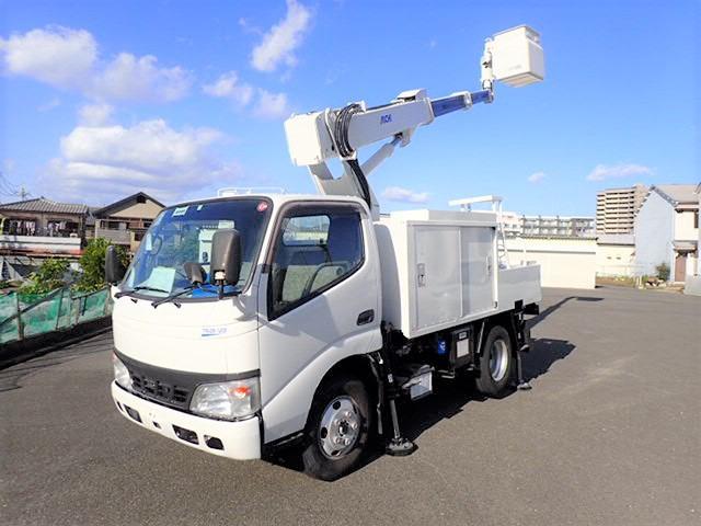 トヨタ トヨエース 高所作業車 H18 SK11B 10.9M 塗装済