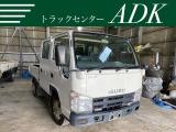 いすゞ エルフ 3.0 ダブルキャブ フルフラットロー ディーゼル 4WD