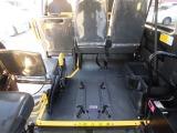 ハイエースバン 2.0 DX ロング ハイルーフ Bパッケージ 車いす固定装置2台