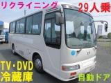 リエッセ バス 29人乗 モケリク 冷蔵庫 テレビ
