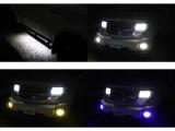 切り替え式LED3色フォグライト♪サイドステップ下部点灯♪
