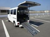 三菱 ミニキャブバン 車いす仕様車 ニールダウン式 4WD