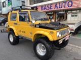 ジムニー ワイルドウインド リミテッド 4WD 5MT リフトアップ 社外マフラー