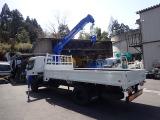 タイタン クレーン 4段 H15 3.5t ワイド超ロング 4段