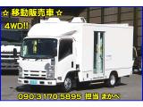 エルフ  移動販売車 4WD