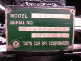 バキューム 東急車輌 MODEL:VC3 MFG:2011-2 圧力吸い込み、排出出来ました! 電動ホース巻取スイッチ有り。