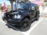 パジェロ 3.5 エボリューション 4WD 黒全塗装 純正エアロ