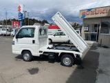 アクティトラック ダンプ 4WD エアコン パワステ バイザー マット