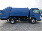 キャンター 塵芥車 3.4t積巻込み式パッカー車6.5立米