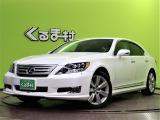 LS600h バージョンS Iパッケージ 4WD 【Hスタイルエアロ☆HDDナビTV】