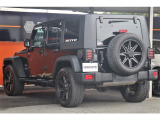 ジープ・ラングラーアンリミテッド スポーツ 4WD 1年保証付 社外アルミ グリル 純正あり