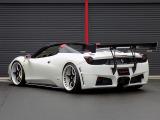 458スパイダー  SVRボディキット&GTウイング
