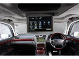 LS600hL 4WD リアモニター エンスタ 寒冷地仕様車