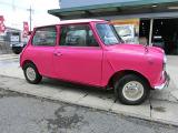 ミニ  オリジナルカラーピンク全塗装