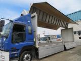 ギガ ウィング 13.9トン4軸低床2デフ 7MTベッド