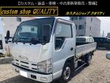 エルフ  トラック 5MT ホワイト 4WD
