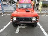 ジムニー XL 4WD 5MTターボ赤全塗 FRパイプバンパー